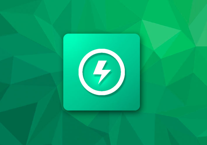 EZ Battery Indicator shows a battery notification for Android devices
